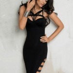 The A A Aaxate Bandage Dress