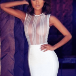 The A Aaababea Bandage Dress
