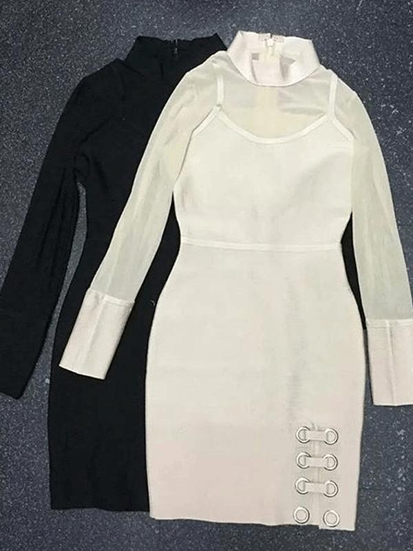 The A Aaacalyne Bandage Dress