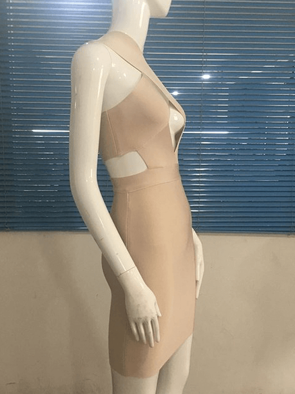 The A Aaavalayne Bandage Dress