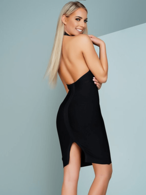 The A Aabaadea Bandage Dress