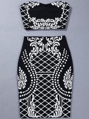 The A Aabaania Bandage Dress