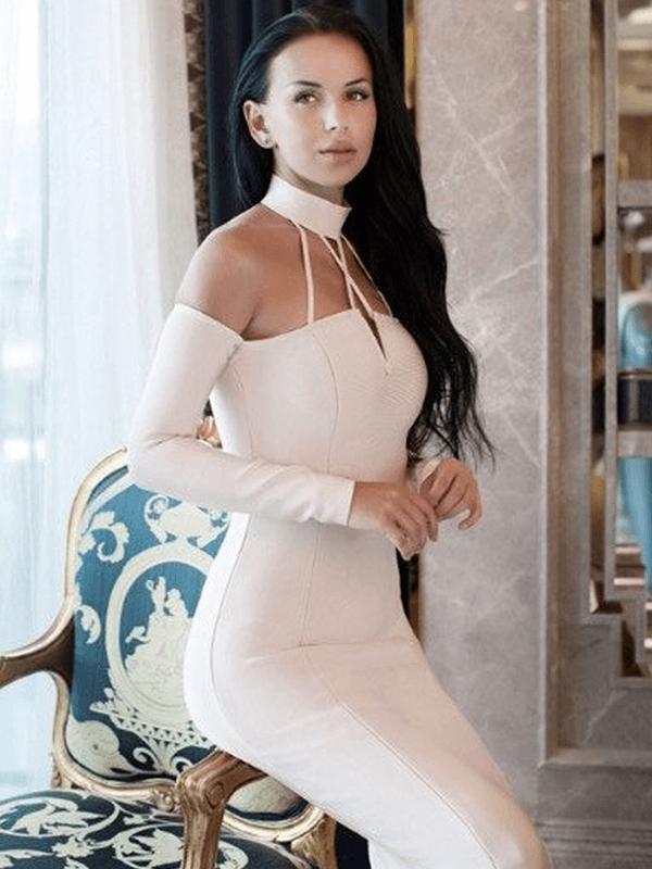 The A Aabaata Bandage Dress