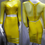 The A Aabae Bandage Dress