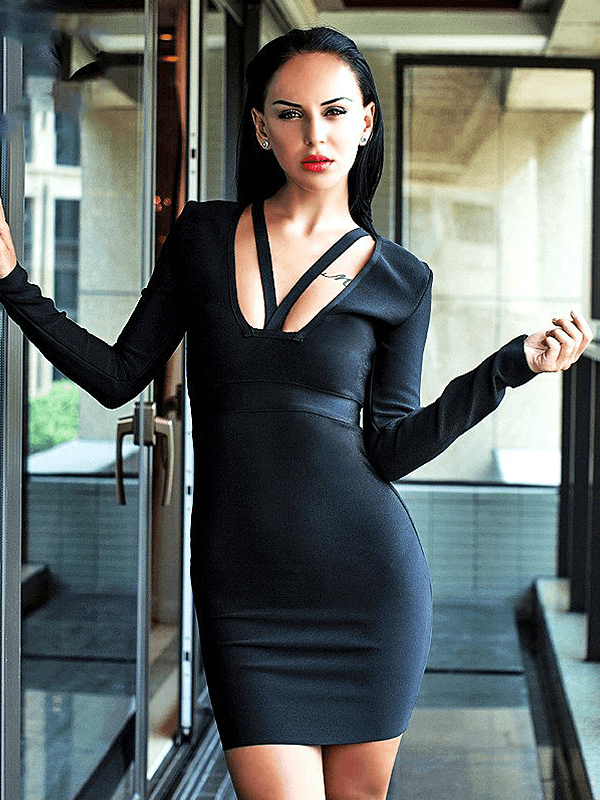 The A Aacaeiia Bandage Dress