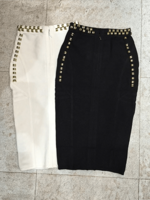 The A Aacaew Thick Bandage Skirt
