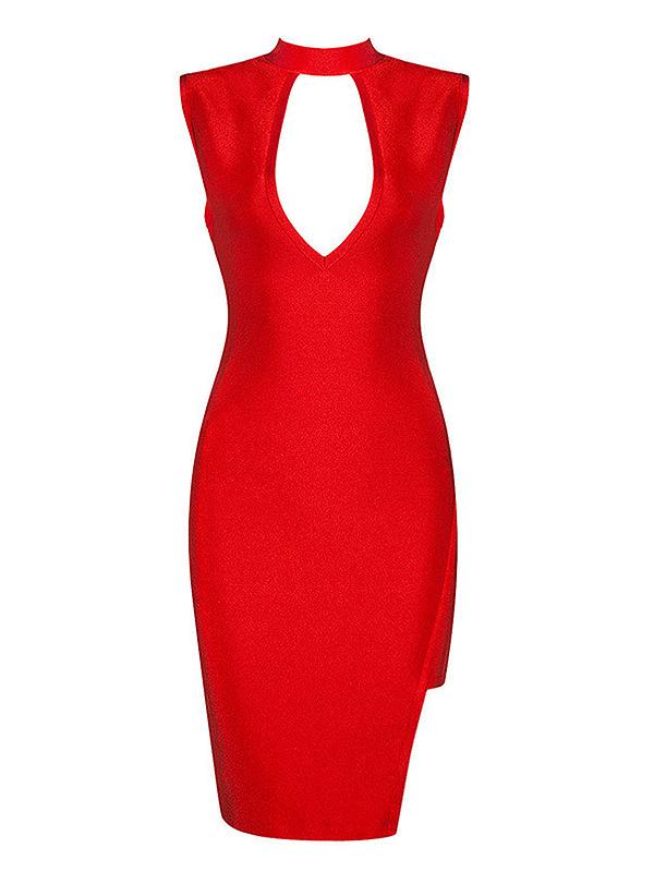 The A Aacafe Bandage Dress