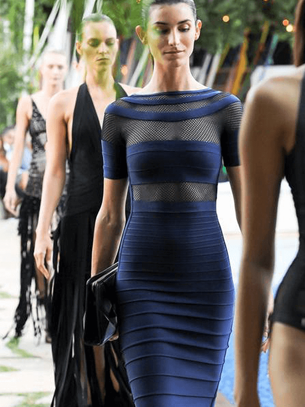 The A Aacai Bandage Dress