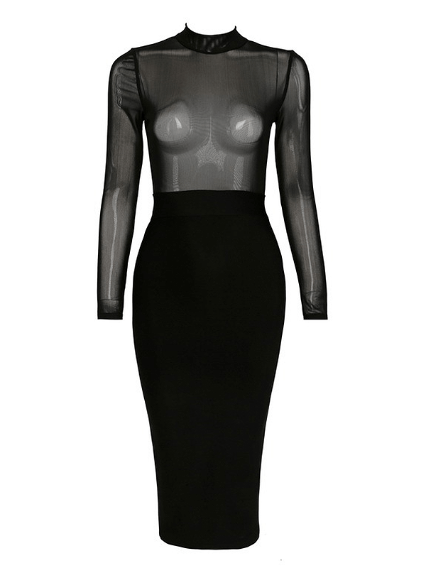 The A Aacanate Bandage Dress