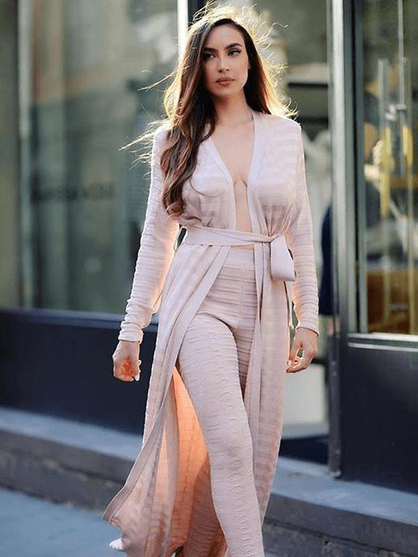 The A Aacanili Bandage Dress