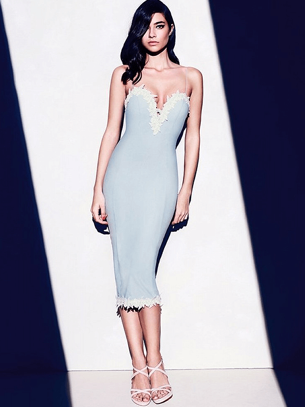 The A Aaclane Bandage Dress