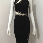 The A Aaclate Bandage Dress