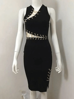 The A Aaclate Bandage Dress