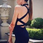 The A Aacodee Bandage Dress