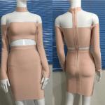 The A Aadelia Bandage Dress
