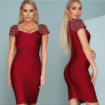 The A Aamatie Bandage Dress