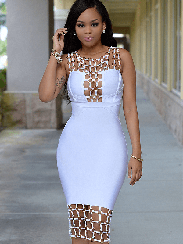 The A Aamaynie Bandage Dress
