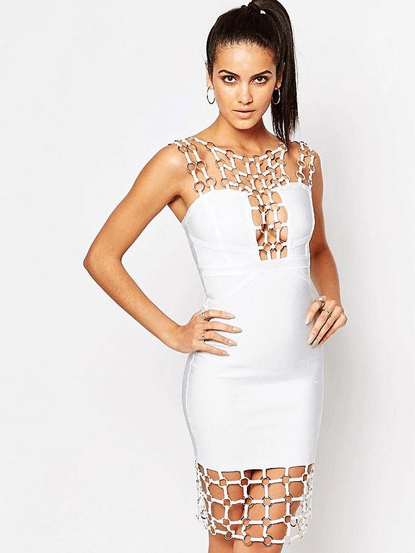 The A Aamaynie Bandage Dress