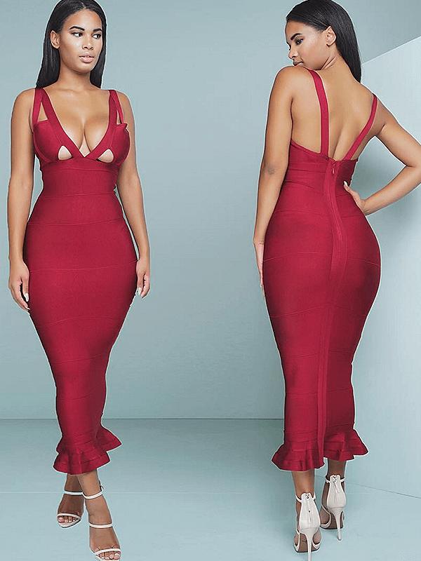 The A Aamella Bandage Dress