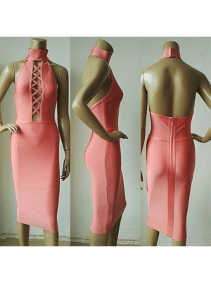 The Aaahae Bandage Dress