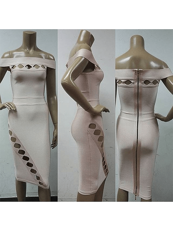 The Aaahha Bandage Dress