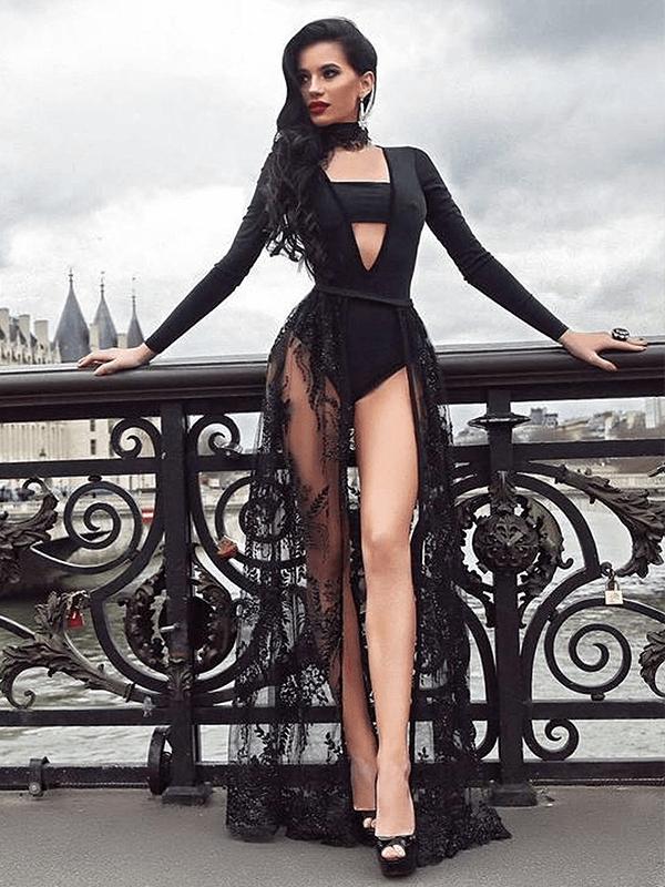 The Aangrea Bandage Dress
