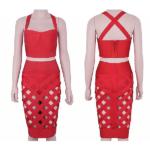 The RiRi Cross Bandage 2 Piece Dress